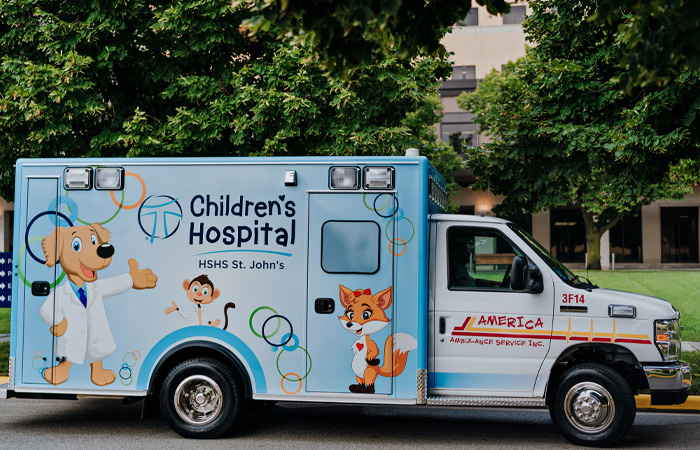 St. John's Children's Dedicated Ambulance